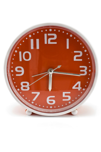 red_clock